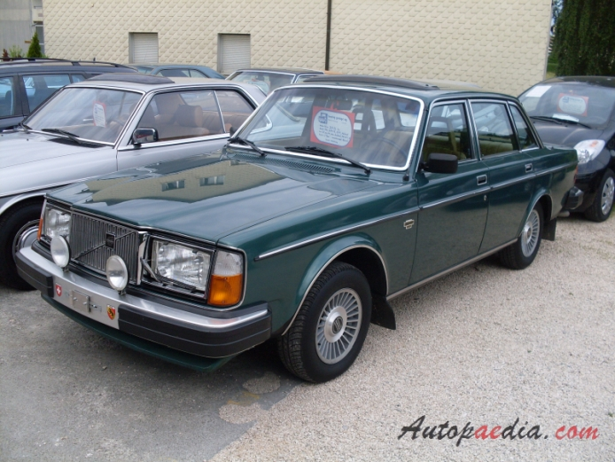 Volvo 200 Series 1974 1993 1980 264 Gl Sedan 4d Left