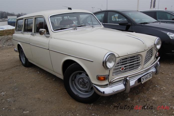 Volvo P120 Series Amazon 1956 1970 1967 1969 P220 Kombi
